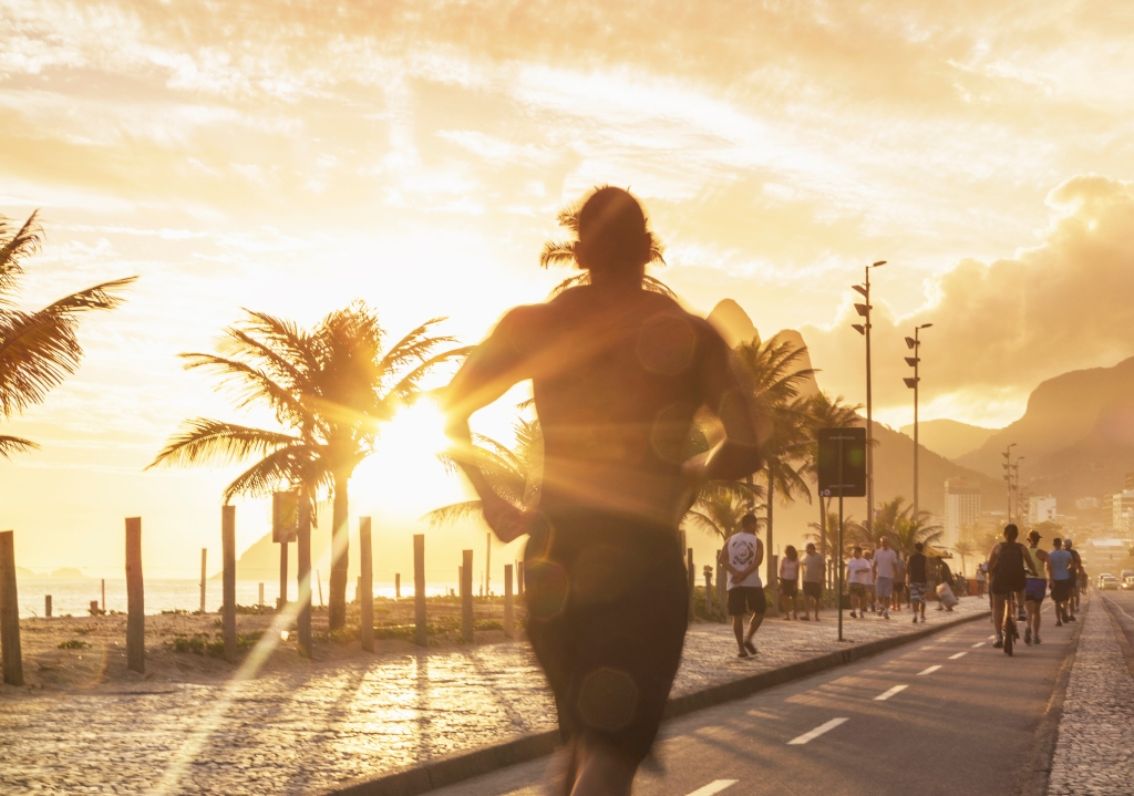 Atividade física | horário de verão | sol | Rio de Janeiro
