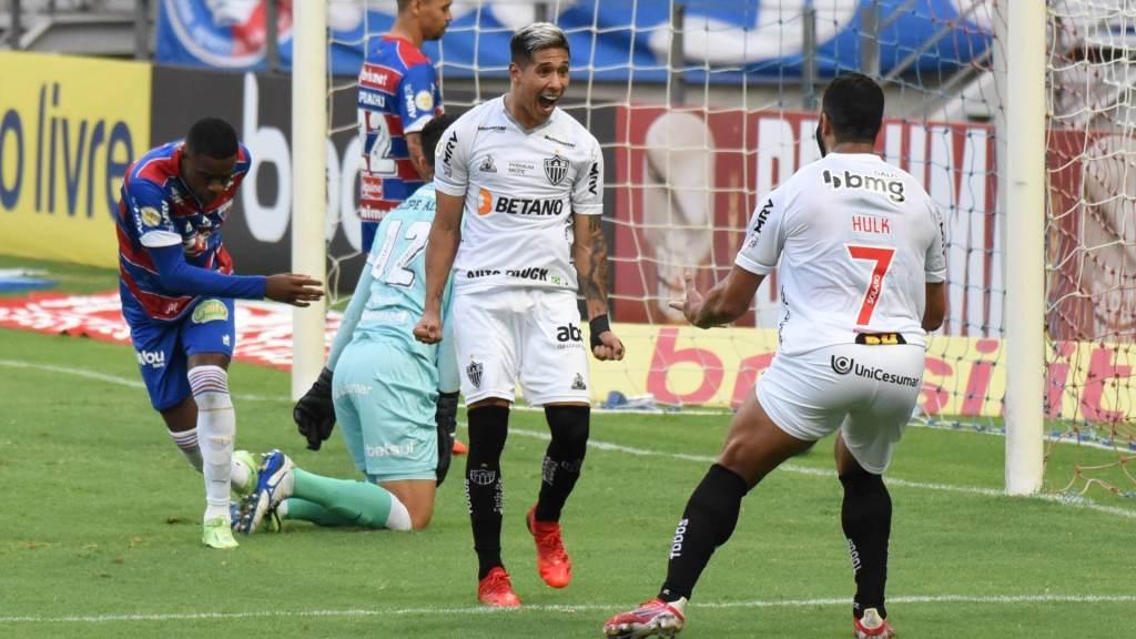 Atlético-MG venceu o Fortaleza fora de casa por 2 a 0