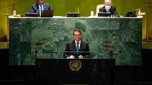 Na ONU, Bolsonaro abre mão de falar para o mundo e discursa para apoiadores
