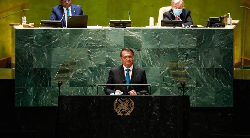 Jair Bolsonaro discursa na ONU mirando sua base