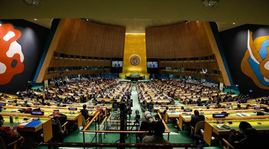 (Nova Iorque - EUA, 21/09/2021) Discurso do Presidente da República Jair Bolsonaro.Foto: Alan Santos/PR