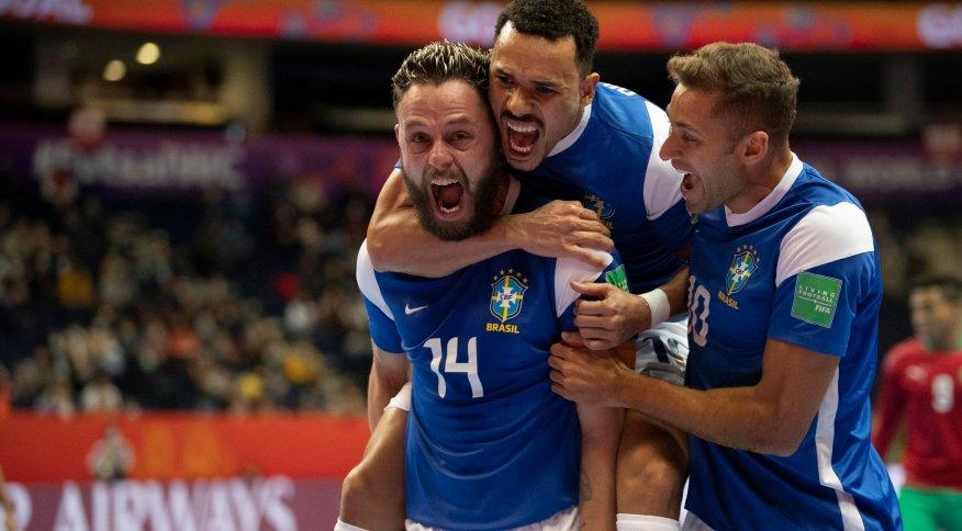 Brasil vence o Marrocos por 1 a 0 neste domingo (26)