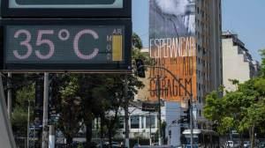 São Paulo registra a tarde mais quente do ano