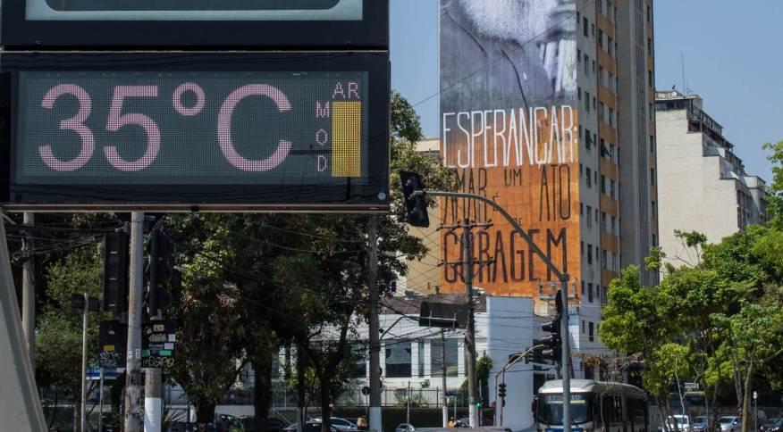 São Paulo teve tarde mais quente de 2021 nesta segunda-feira (20)