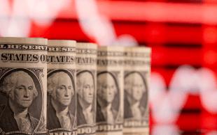 S&P 500 e Dow Jones também passaram a recuar uma vez que sinais de que a inflação veio para ficar