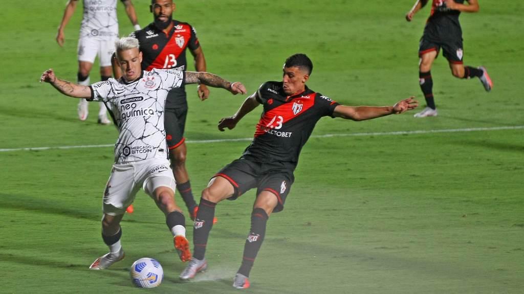 Atlético-GO e Corinthians empataram em 1 a 1 em Goiânia