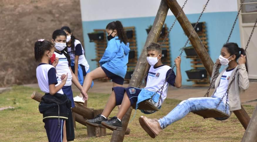 Atividades escolares durante a pandemia de Covid-19 na cidade de Jundiaí (SP)