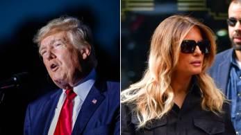 Melania Trump tem recuado cada vez mais do centro das atenções desde que partiu de Washington em janeiro