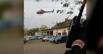Dois criminosos fingiram ser passageiros e tentaram obrigar o policial a voar até o complexo de presídios no Rio