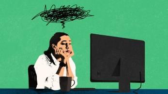 Avaliar há quanto tempo há problemas com o trabalho e identificar o que o deixa insatisfeito pode ajudar a determinar se situação é temporária