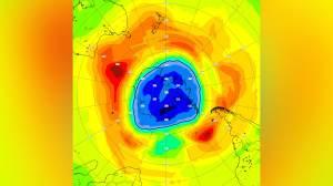 Buraco na camada de ozônio no Polo Sul supera o da Antártica