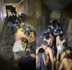 Agentes de fronteira encontram imigrantes brasileiros dentro de caminhão nos EUA