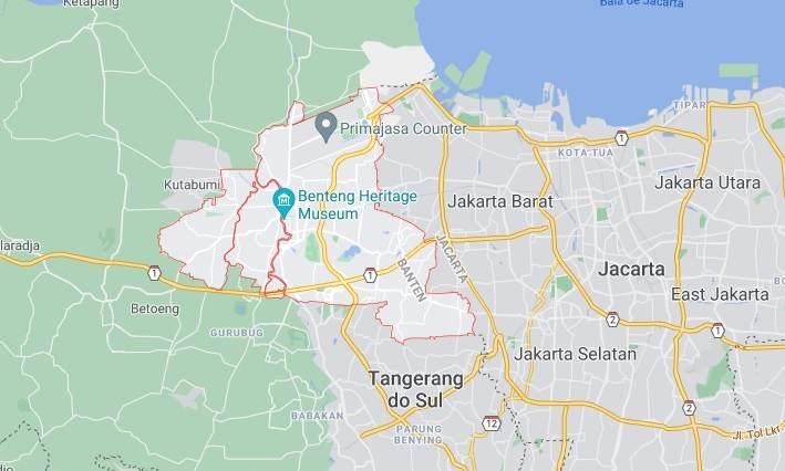 O incêndio começou entre 1h e 2h no Bloco C da Prisão de Tangerang