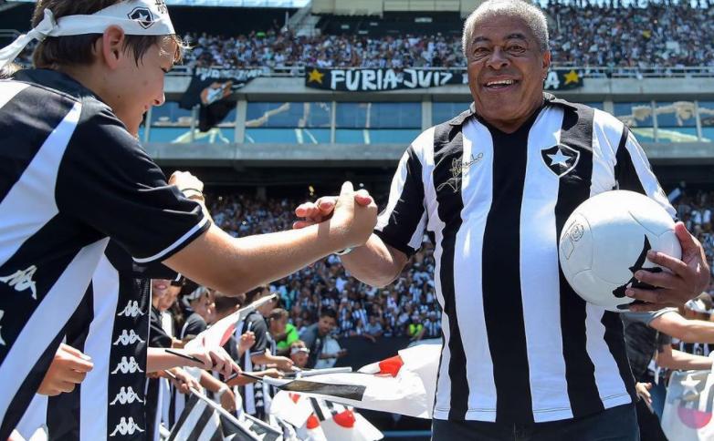 Botafogo publicou em suas redes sociais uma mensagem para informar aos fãs sobre a alta do ídolo