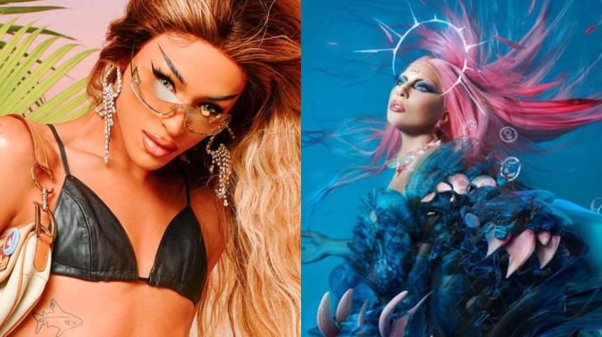 Lady Gaga e Pabllo Vittar fazem parceria em novo álbum da norte-americana