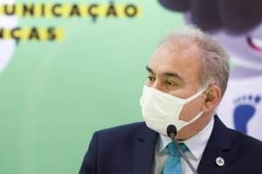 A fala do ministro da Saúde Marcelo Queiroga foi em um evento sobre saúde mental realizado pela pasta nesta quarta-feira (1)