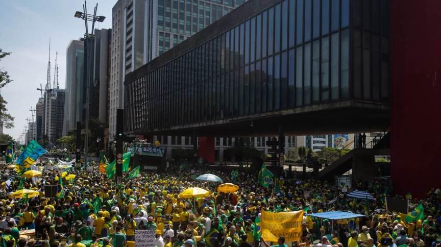 Jair Bolsonaro deve discursar na região do Masp, na Avenida Paulista