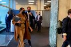 Príncipe Harry e Meghan Markle se encontram com vice-chefe da ONU