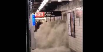 Ainda não há informações sobre quantos trens ainda precisam ser evacuados