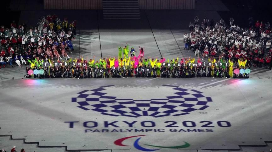 Encerramento da Paralimpíada