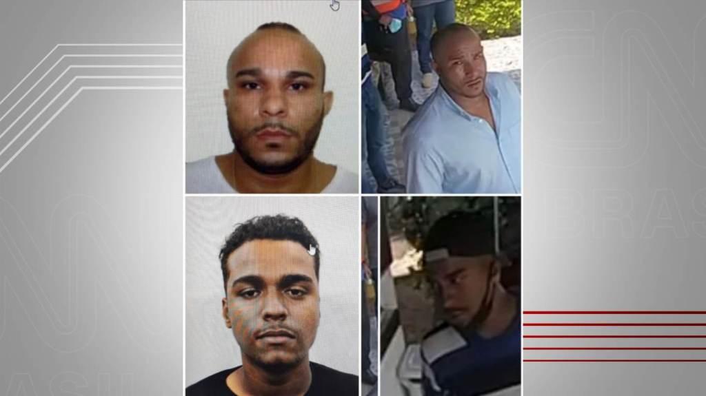 Sequestradores do helicóptero no Rio de Janeiro