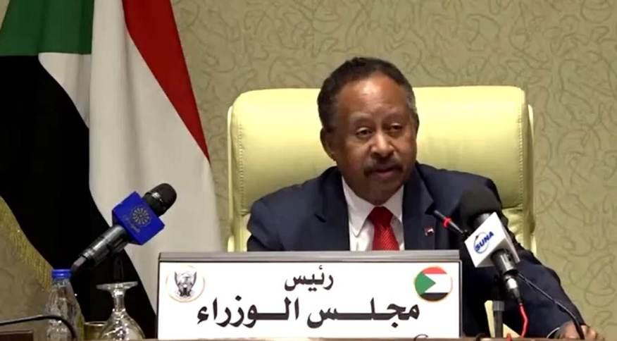 Primeiro-ministro do Sudão, Abdalla Hamdok, fala sobre tentativa de golpe de estado no país