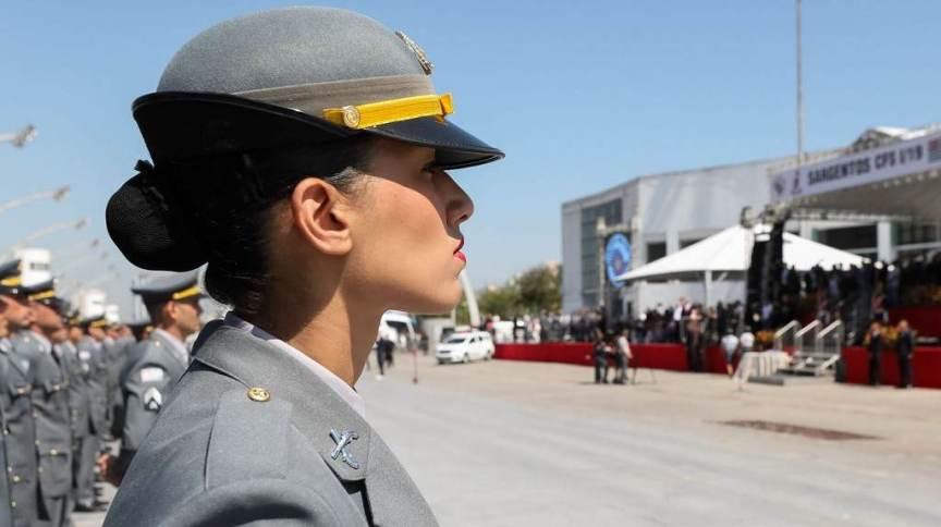 Comandantes das polícias militares acompanharam participação de agentes nos atos de terça-feira (7)