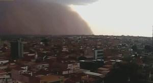 Tempestade de areia pode acontecer mais vezes, afirma meteorologista