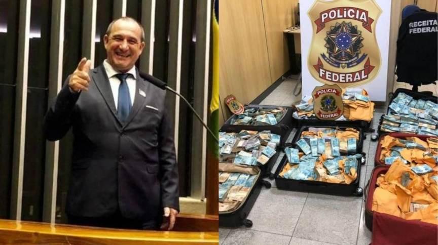 PF abre inquérito contra prefeito abordado com R$ 500 mil em caixas de papelão | CNN Brasil