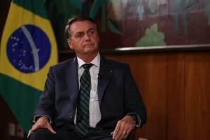 Churrascaria em Nova York monta estrutura externa para Bolsonaro