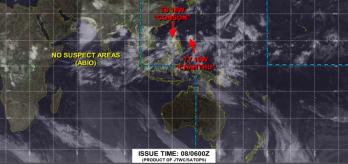 Tempestade deve atingir o solo durante o fim desta semana; ainda não se sabe o Chanthu atingirá primeiro Taiwan ou a costa sul chinesa