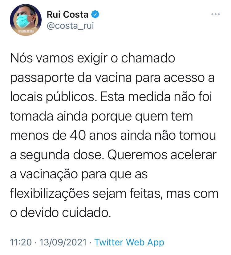 witter Rui Costa