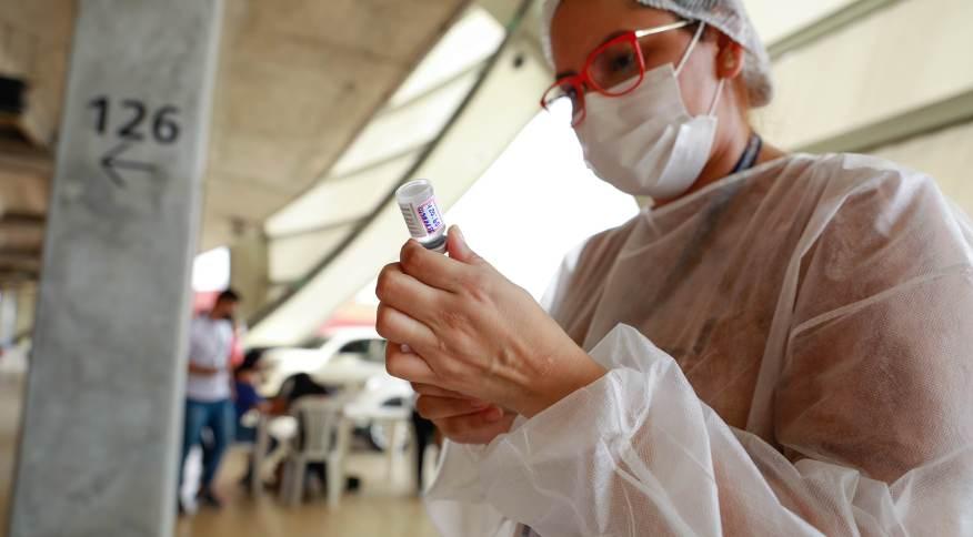 Vacinação contra a Covid-19 em Manaus (AM)