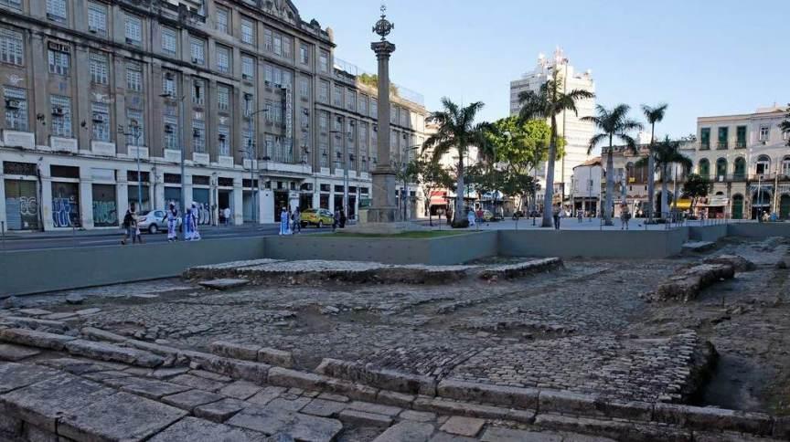 Cais do Valongo, no Rio de Janeiro