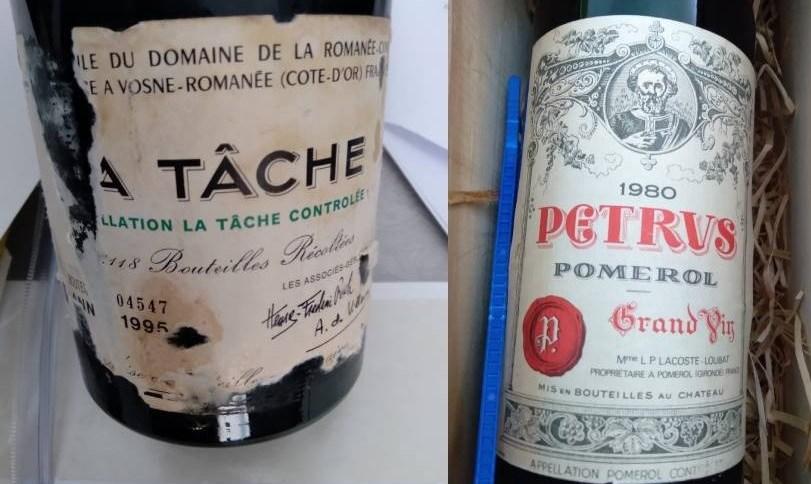 Vinhos doados ao Ministério das Relações Exteriores foram recuperados pela Polícia Federal