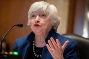 Secretária do Tesouro dos EUA alertou para risco de que o governo fique sem caixa em outubro