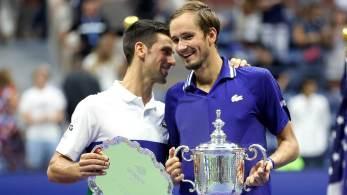 Medvedev tornou-se o terceiro campeão russo do torneio de simples masculino do Grand Slam