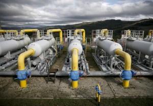 Reservas de gás natural na Europa atingem nível mais baixo da década