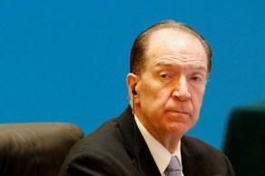 """Presidente da instituição disse que pandemia gerou """"reversões trágicas no desenvolvimento"""" de algumas nações"""