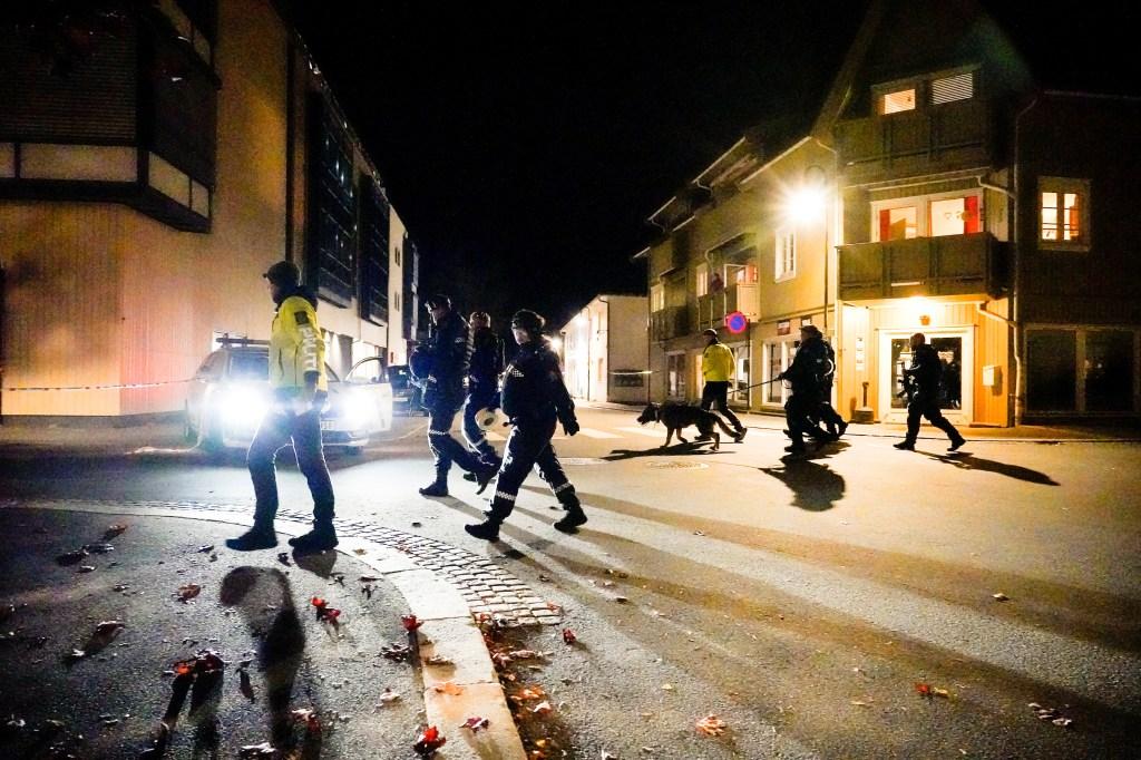 Policiais Ataque Noruega