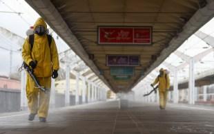 Rússia registrou recorde de mortes e novos casos de infecções pelo coronavírus em 24 h