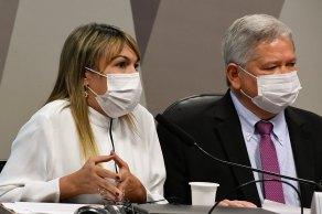 Durante a sessão, senadores aprovaram requerimento que solicita dados sobre a vacinação no Brasil ao ministro Marcelo Queiroga