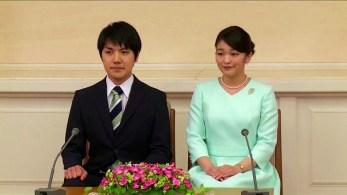 Aos 29 anos, sobrinha do imperador Naruhito se tornará uma cidadã comum após se casar com Kei Komuro na terça-feira (26)