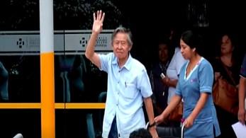 Sua filha, Keiko Fujimori, derrotada nas últimas eleições presidenciais do país, disse que os médicos monitoram a recuperação dele após operação