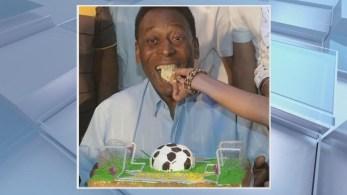 Pelé está aposentado do futebol há 44 anos e conquistou os títulos das Copas do Mundo de 1958, 1962 e 1970