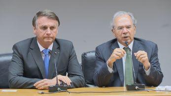 """Ministro Paulo Guedes declarou que """"em nenhum momento pediu demissão"""""""