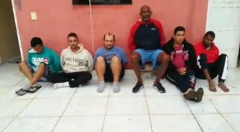 Suspeitos estavam em um sobrado, na localidade de Cerro Corá, vizinha de Pedro Juan