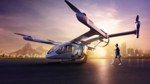 """Embraer vai usar helicópteros para simular rota de """"carros voadores"""" no Rio"""