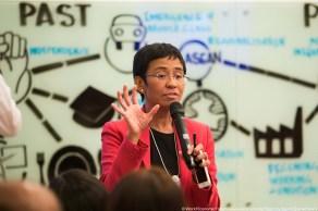 Ressa foi premiada com o Nobel da Paz nesta sexta; ela atuou como a principal repórter investigativa da CNN no Sudeste da Ásia durante quase 20 anos