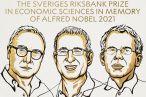 Nobel de Economia vai para David Card e para a dupla Joshua D. Angrist e Guido W. Imbens